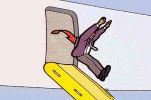 airplane exit